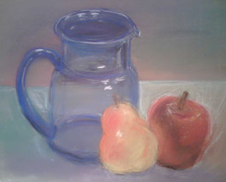 blue-pitcher-with-fruit-pastel-march-2008.jpg