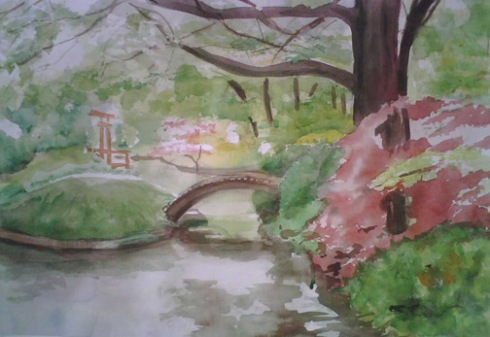 Japanese Garden - FINISHED 5-24-09