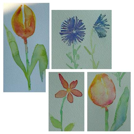 flower study 8-19-09