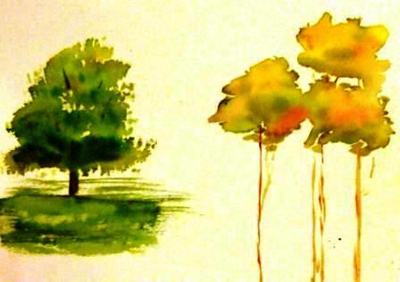 Tree Study 1 - 9-16-09