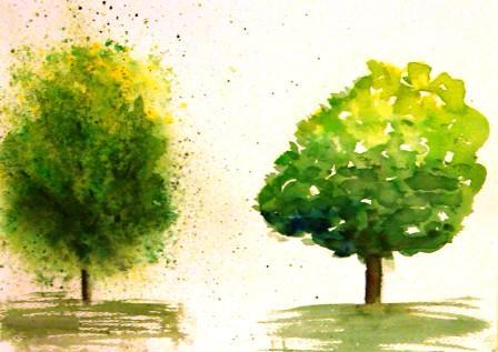 Tree Study 2 - 9-16-09
