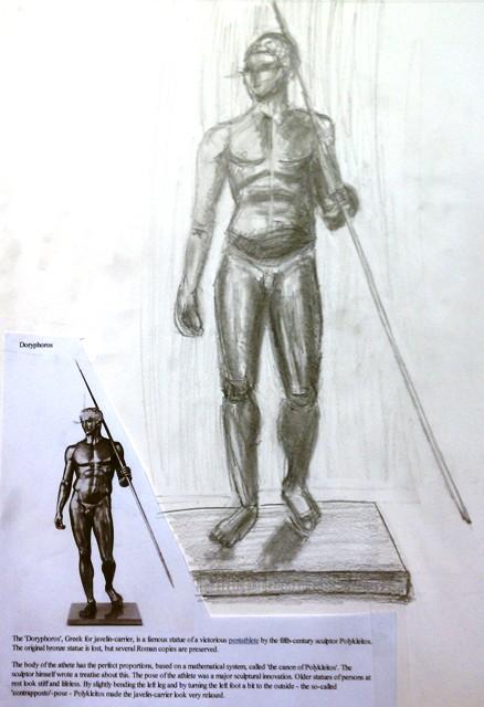 polykleitos of argos and the spear bearer Polykleitos (or polyklitos, polycleitus, polyclitus greek  he was of the school of argos and a contemporary of  polykleitos torso of poseidon statue nickname.