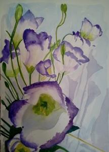 Purple Flowers 7-15-12