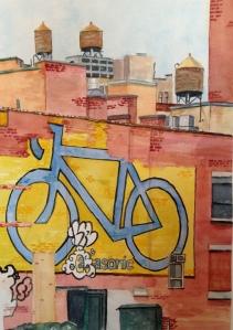 6th Ave Bike November 2012