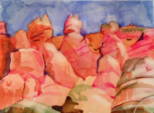 Utah red rocks wip 1-13-13