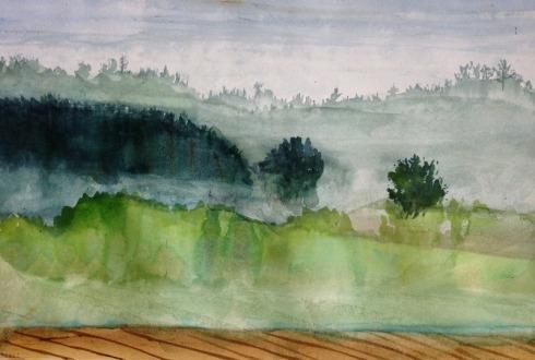 misty landscape 6-9-13