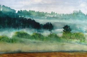 Misty Trees 6-30-13