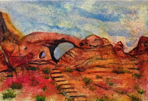 Arches National Park Utah on Masa Paper
