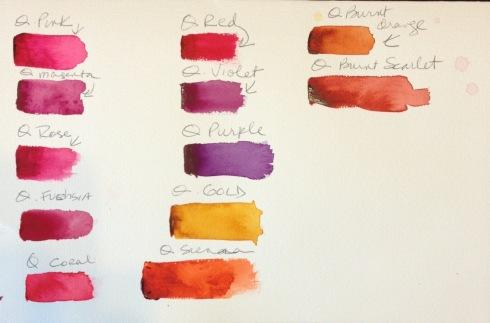 Quin colors