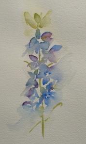 Jean Haines flowers 10-2013