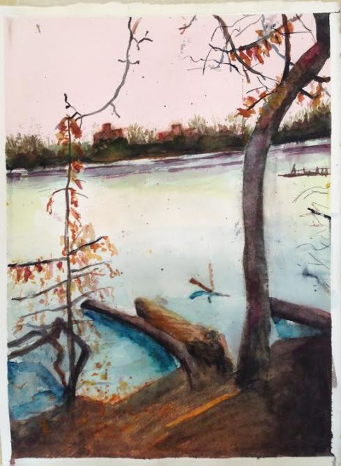 Prospect Park Lake WIP 2-9-2014 completed