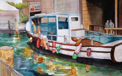 Gowanus Boat 3-23-2014