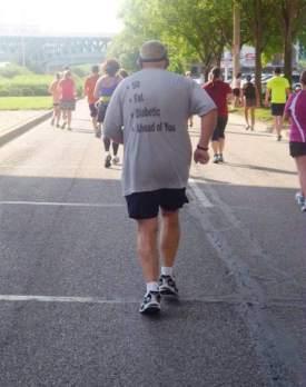 50 fat diabetic ahead of you