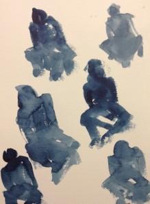gestural sketches