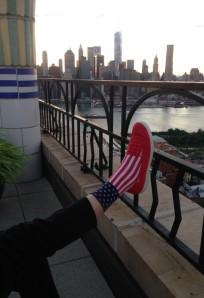 patriotic footwear