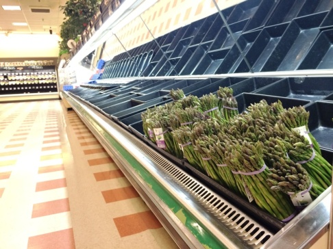 Asparagus at Market Basket