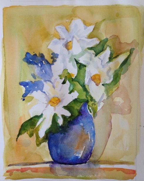 blue vase Nov.2014