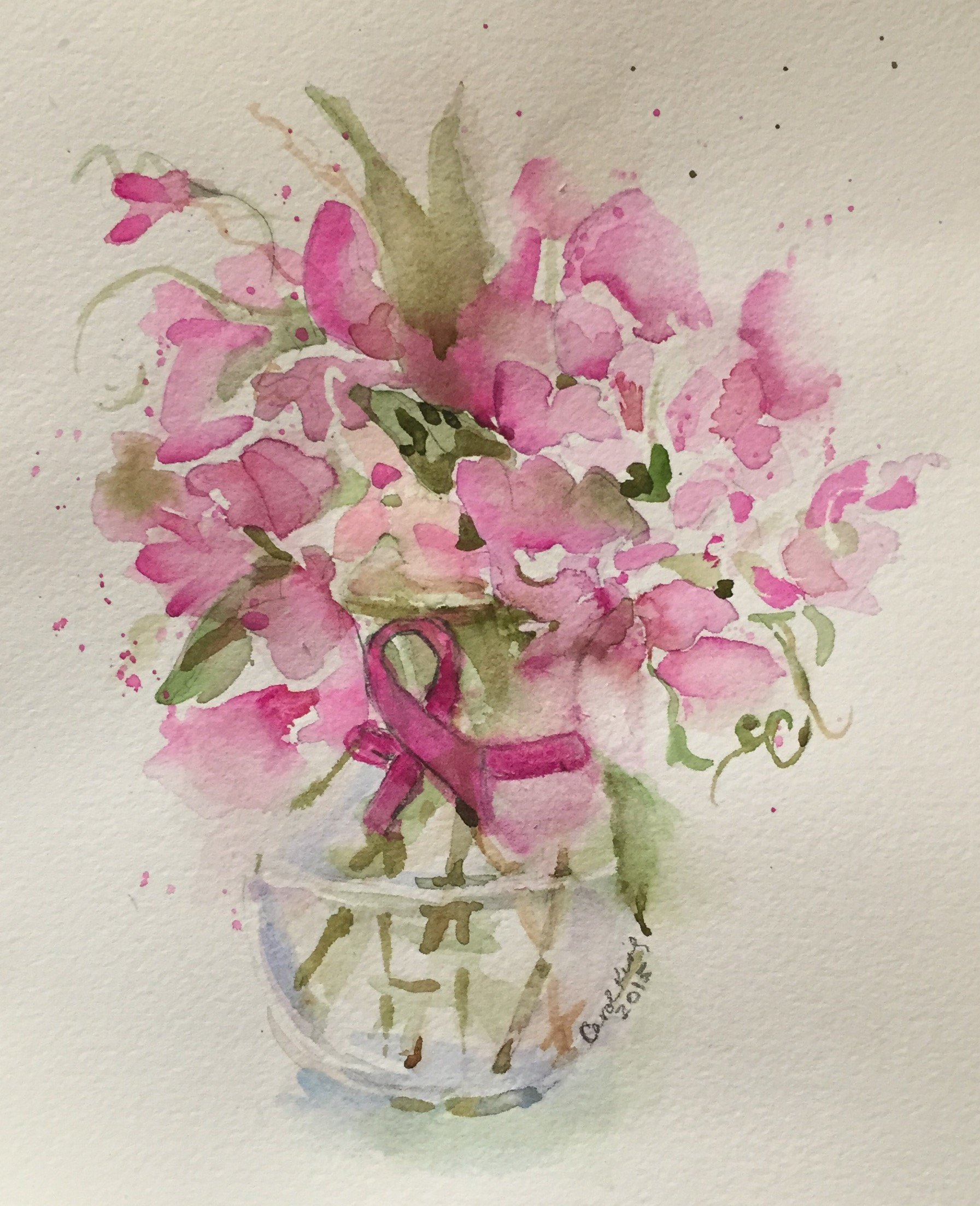 Flowers carol king drawing painting complaining - Flowers that mean friendship ...