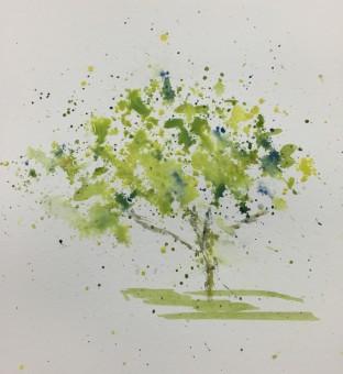 Splatter Tree 1-31-15