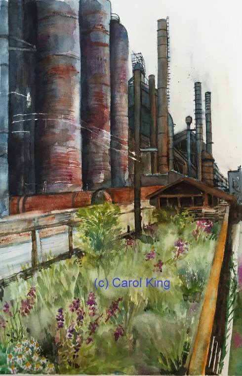 Bethlehem Steel Stacks 9-13-2015