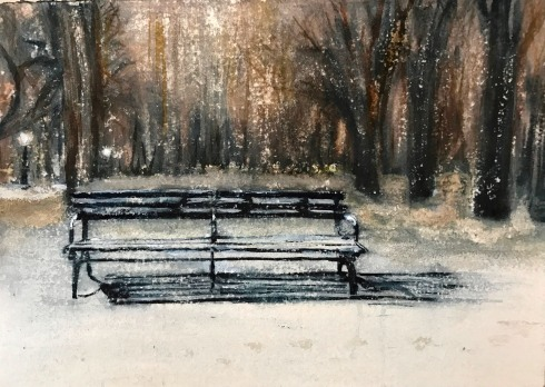 central-park-bench